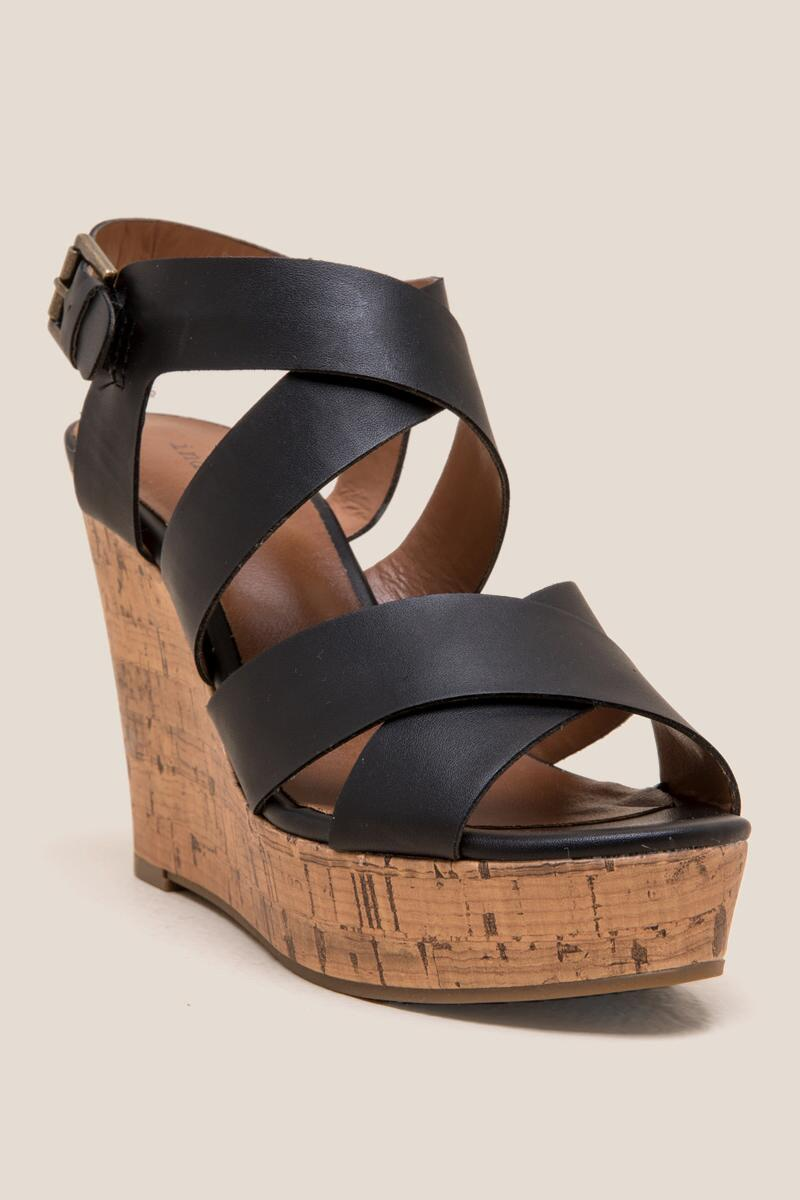 Indigo Rd. Wedge- Black