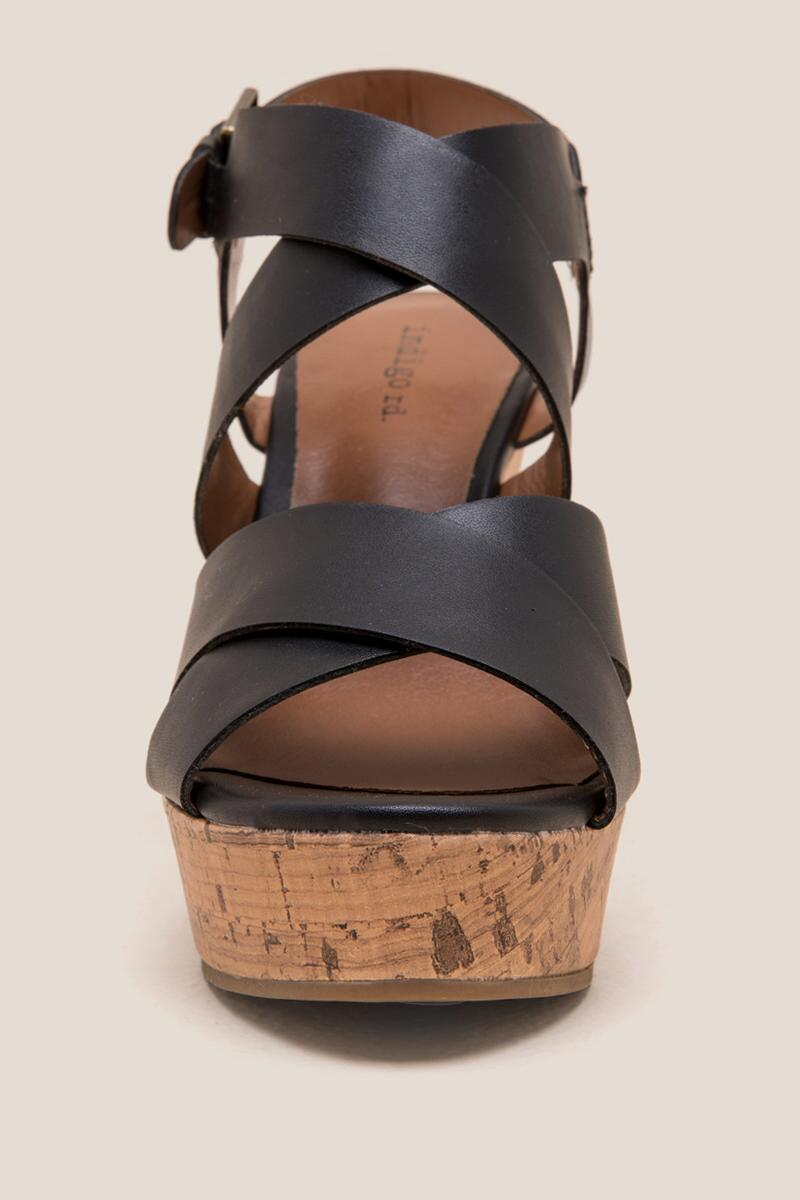 Indigo Rd. Wedge- Black 3