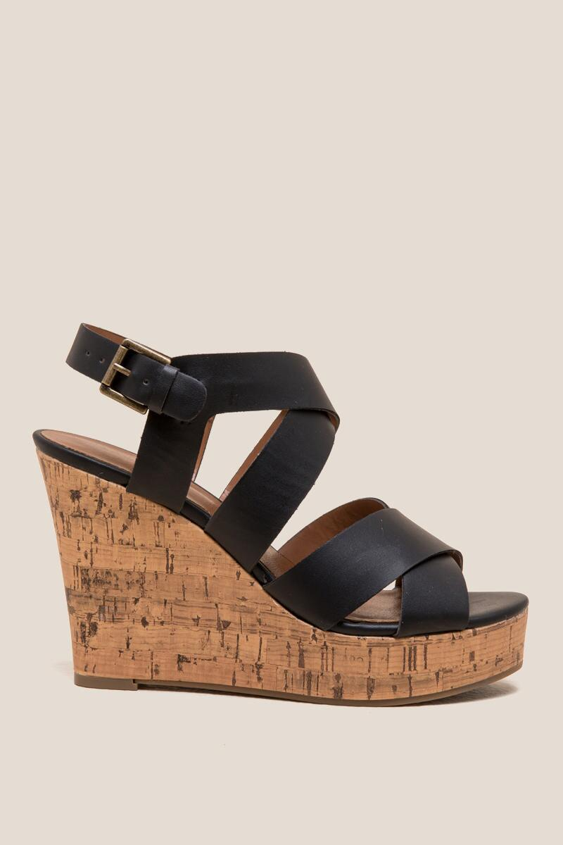 Indigo Rd. Wedge- Black 5