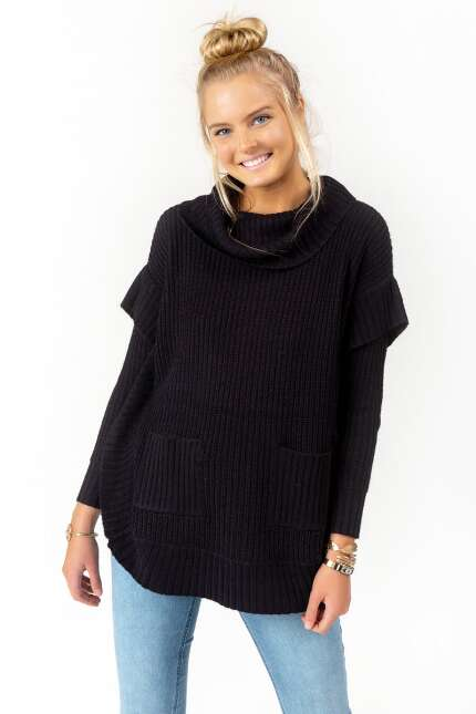 Cameron Long Sleeve Poncho