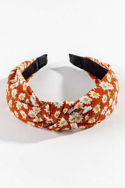 Daisy Top Knot Headband