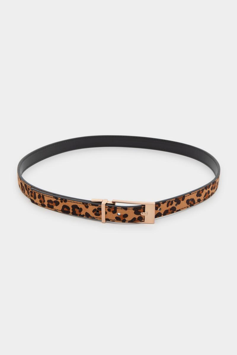 Joanne Reversible Leopard Belt-  leop-cl3