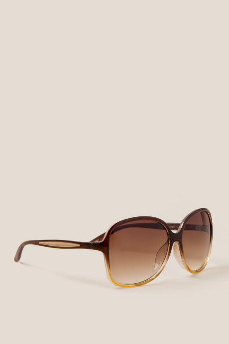 Bethany Brown Square Sunglasses