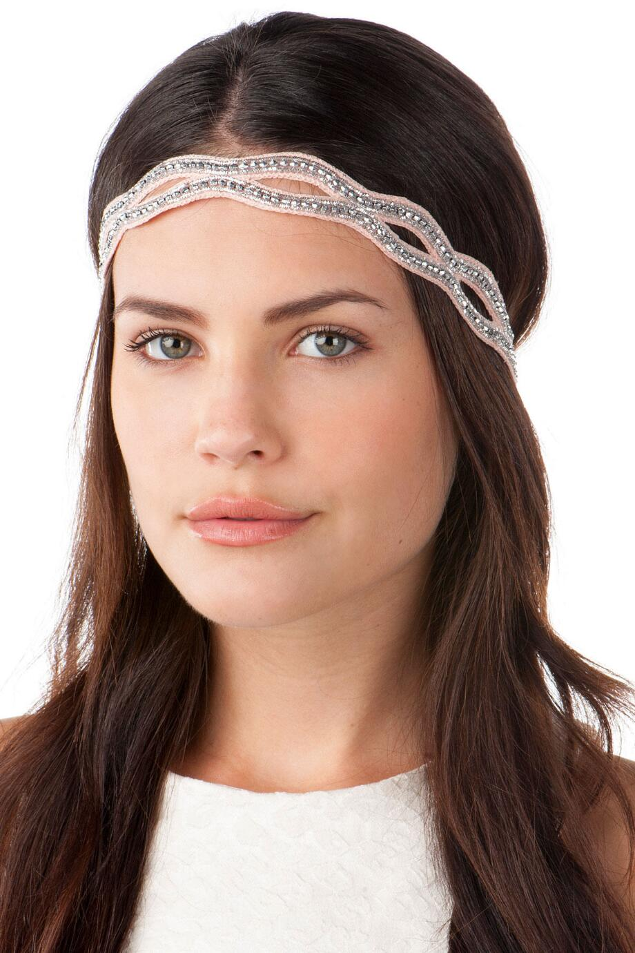 Roseville Beaded Head Wrap