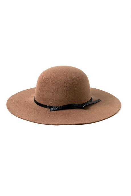 Leslie Round Crown Floppy Hat