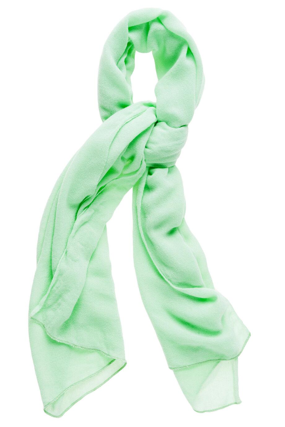 FAIRFIELD SOLID SCARF IN MINT