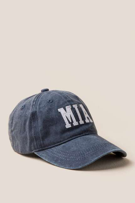 Miami Baseball Hat