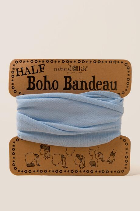 Boho Bandeau in Pale Blue
