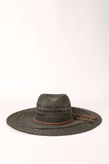 Tiffany Wide Brim Panama Hat