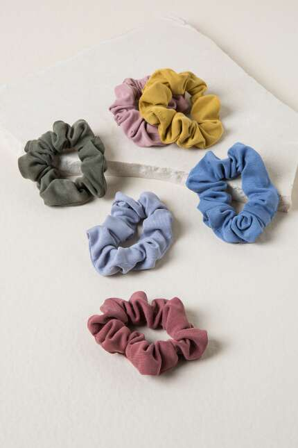Haley Cupro Scrunchie Set