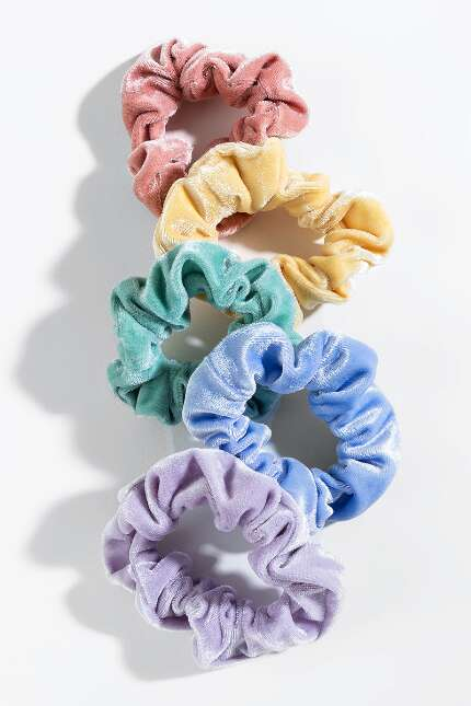 Nola Pastel Scrunchie Set