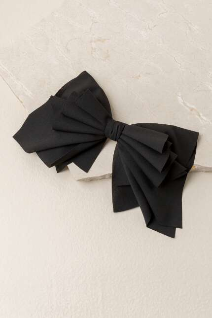 Nanette Barrette Bow In Black