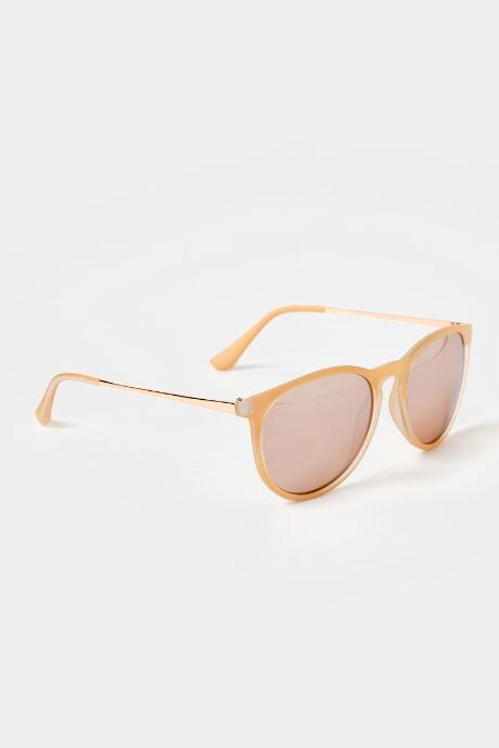 Kira Rose Gold Sunglasses