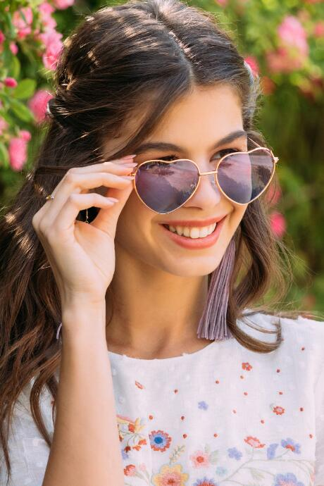 Elsa Heart Shaped Sunglasses