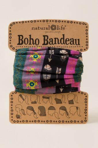 Boho Bandeau by Natural Life in Feathers and Arrows