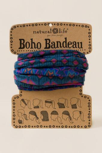 Boho Bandeau by Natural Life in Geometric Bursts