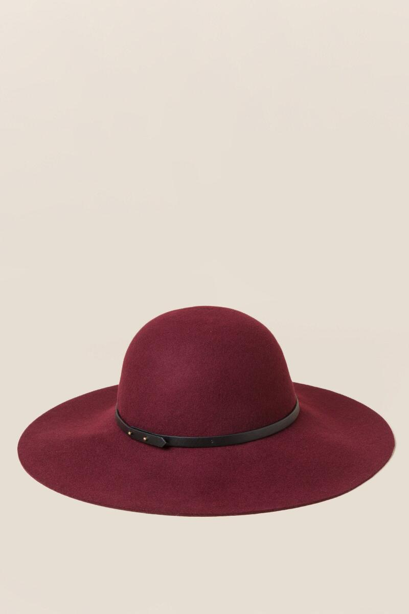 Ione Classic Floppy Hat-  burg-cl