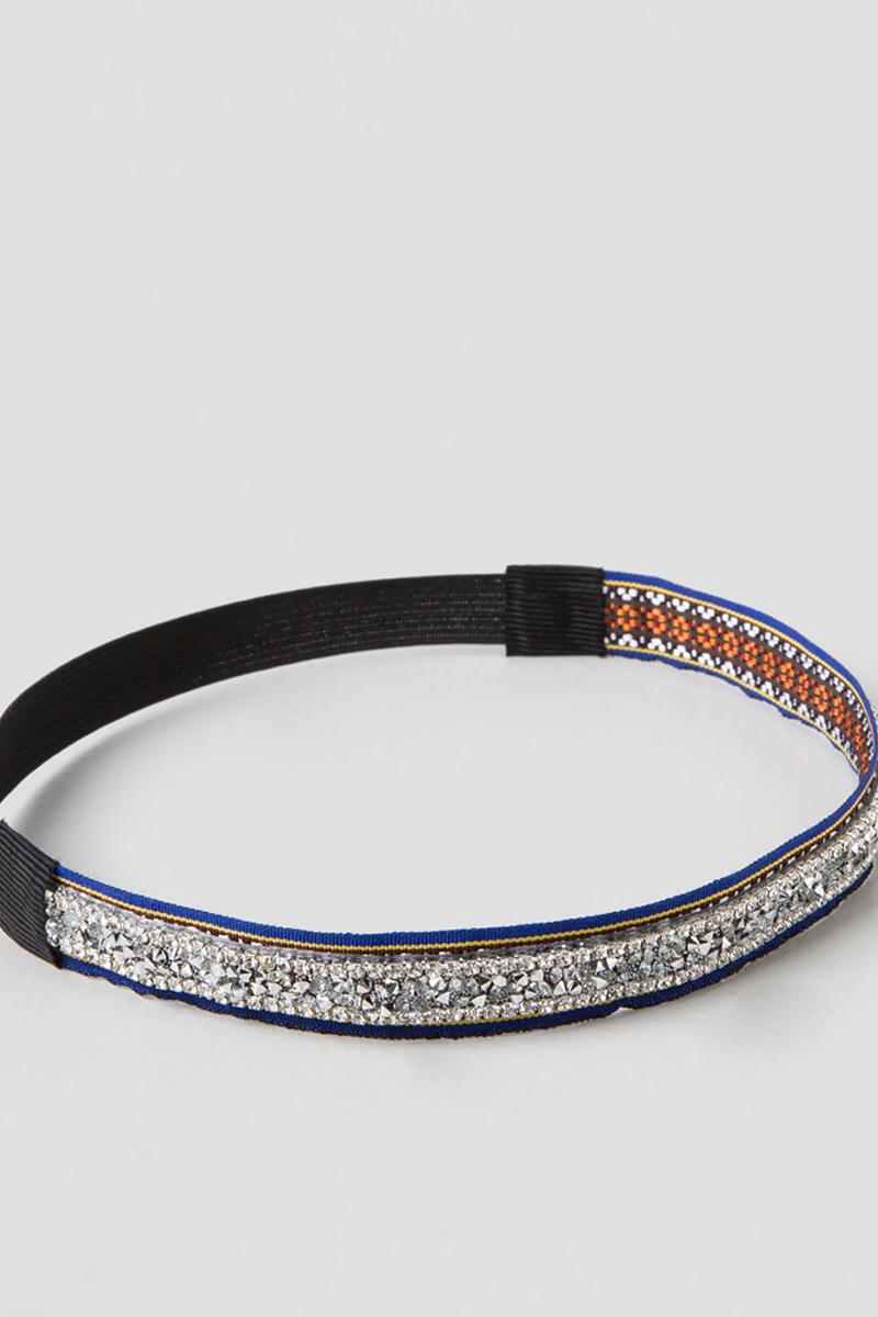 Salma Headband in Blue-  silv-clalternate