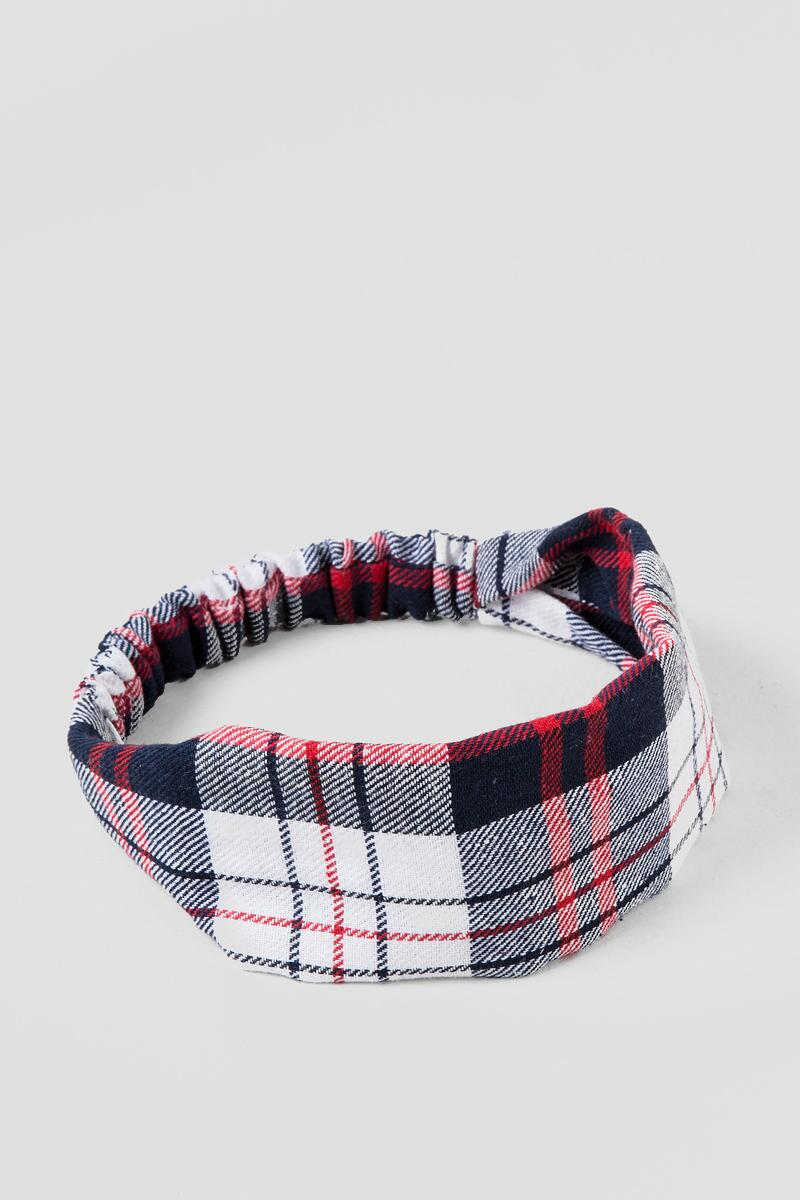 Plaid Fabric Headband