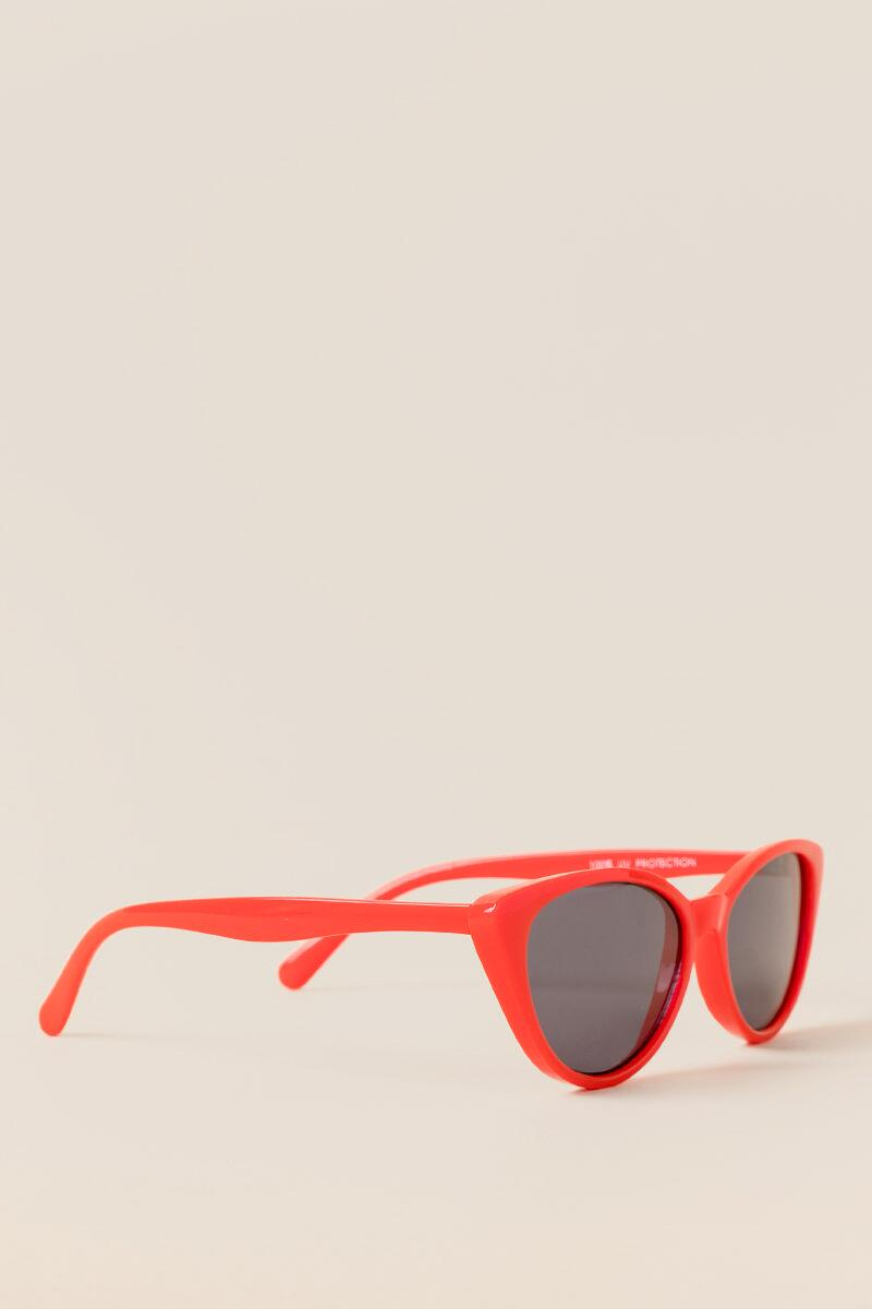 I Spy Red Cat Eye Sunglasses- Red 2