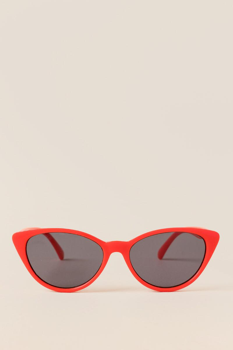 I Spy Red Cat Eye Sunglasses- Red 3