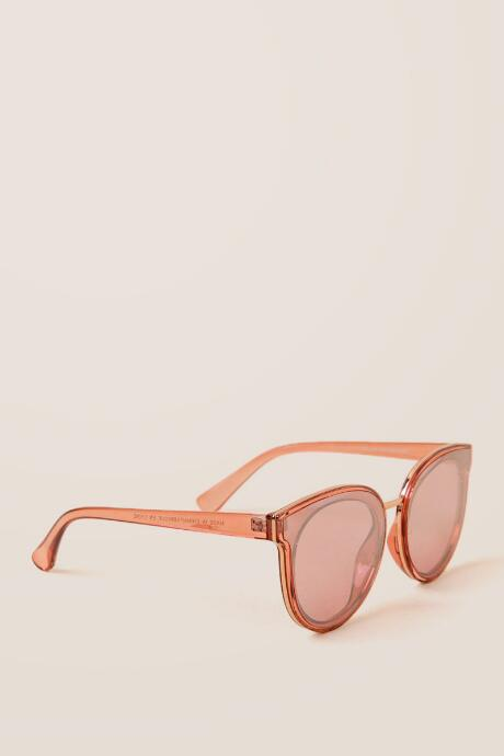Rena Pink Mirrored Sunglasses