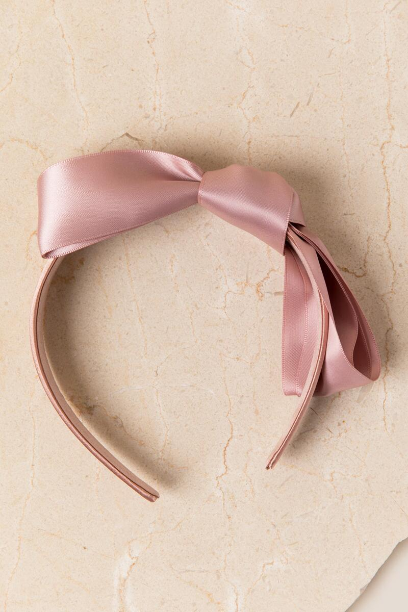 Toni Bow Headband-  blush-clalternate2