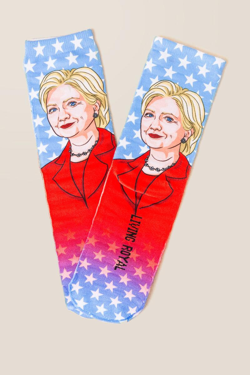 Clinton Democrat Socks