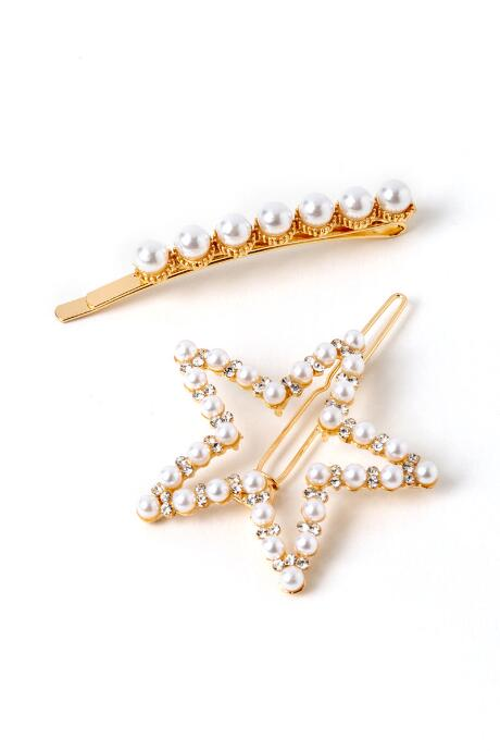 Megan Pearl Star Bobby Pin