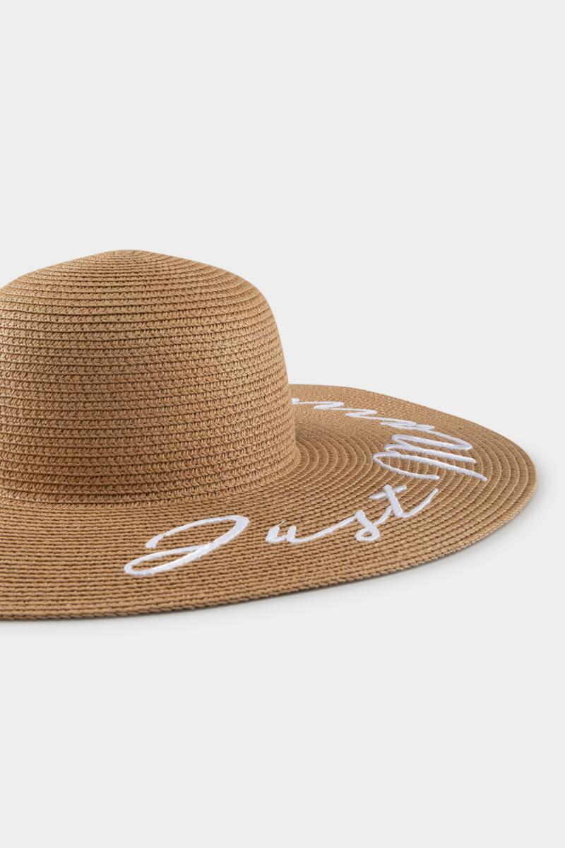 Just Married Floppy Hat-  nat-cl3