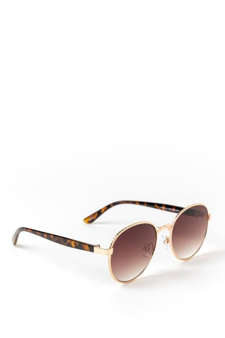 Olivia Gold Braid Sunglasses