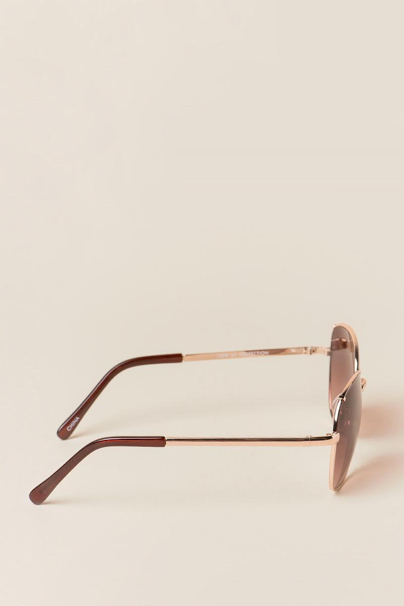 Ophelia New Classics Sunglasses- Brown side