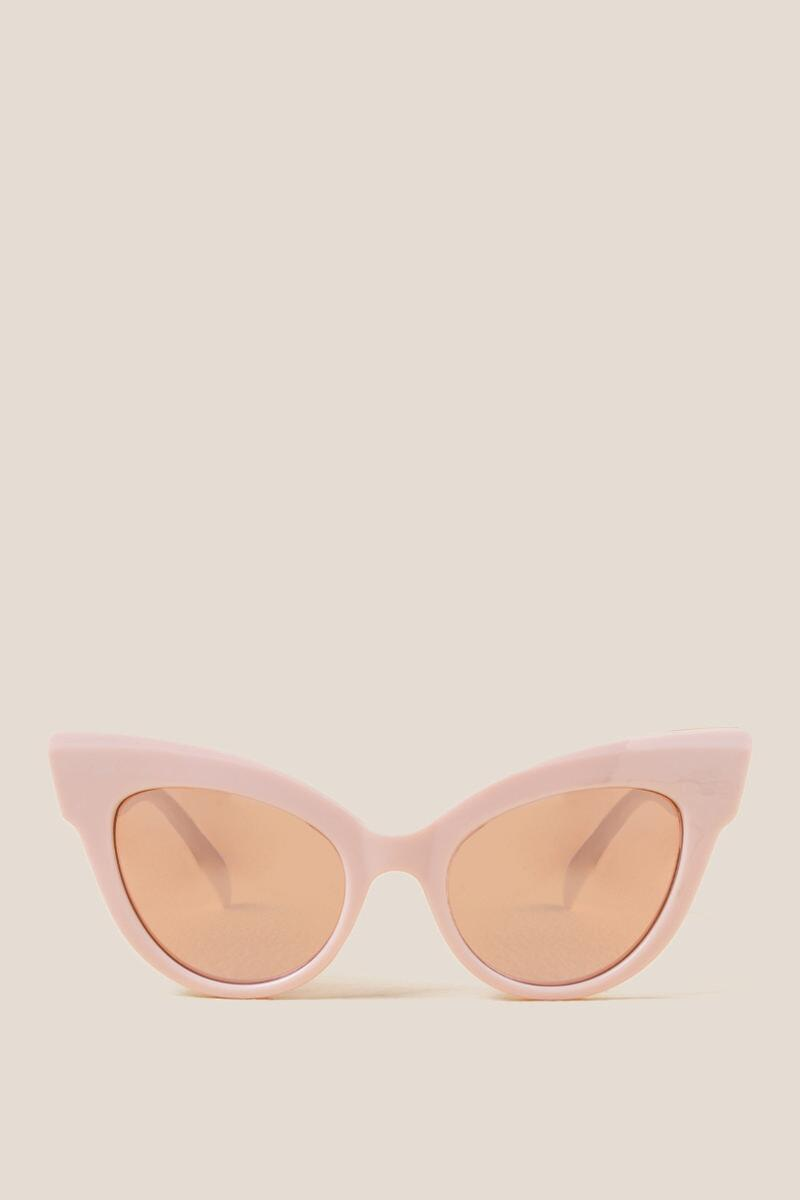 Pageant Cat Eye Sunglasses-  blush-cl2