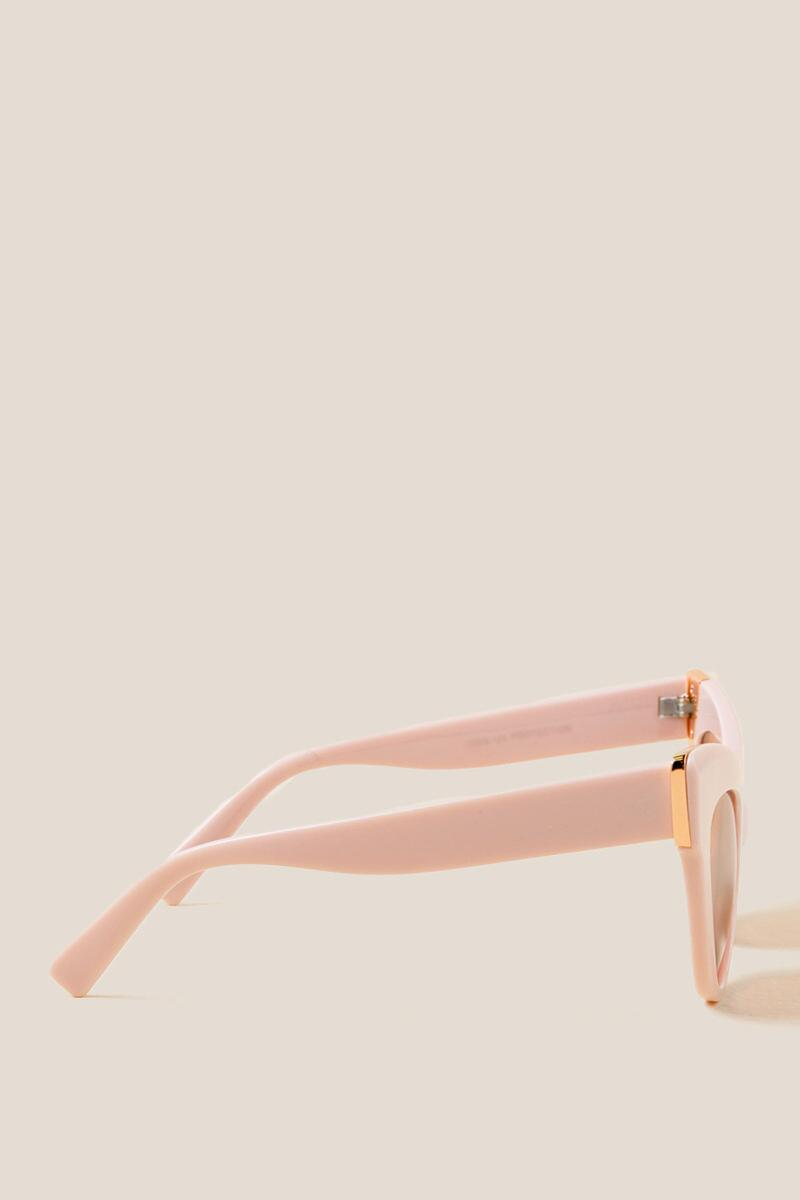 Pageant Cat Eye Sunglasses-  blush-cl3