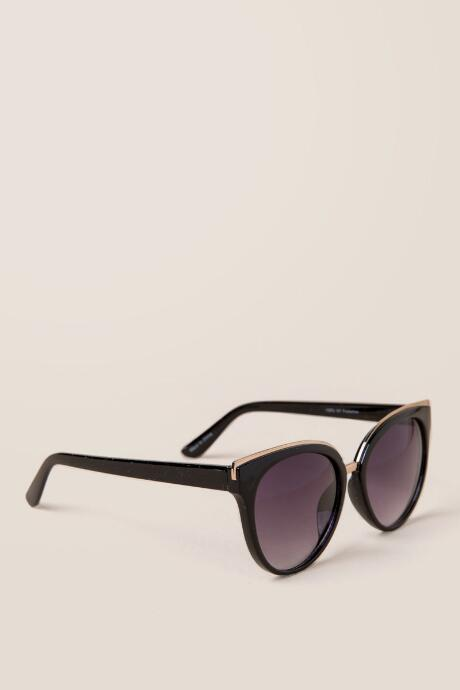 Phantom Gold Trim Sunglasses