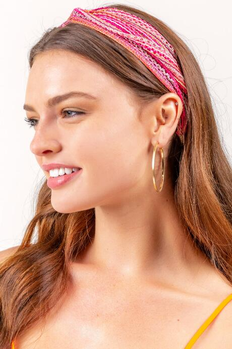 BOHO Pink Multi Color Softwrap
