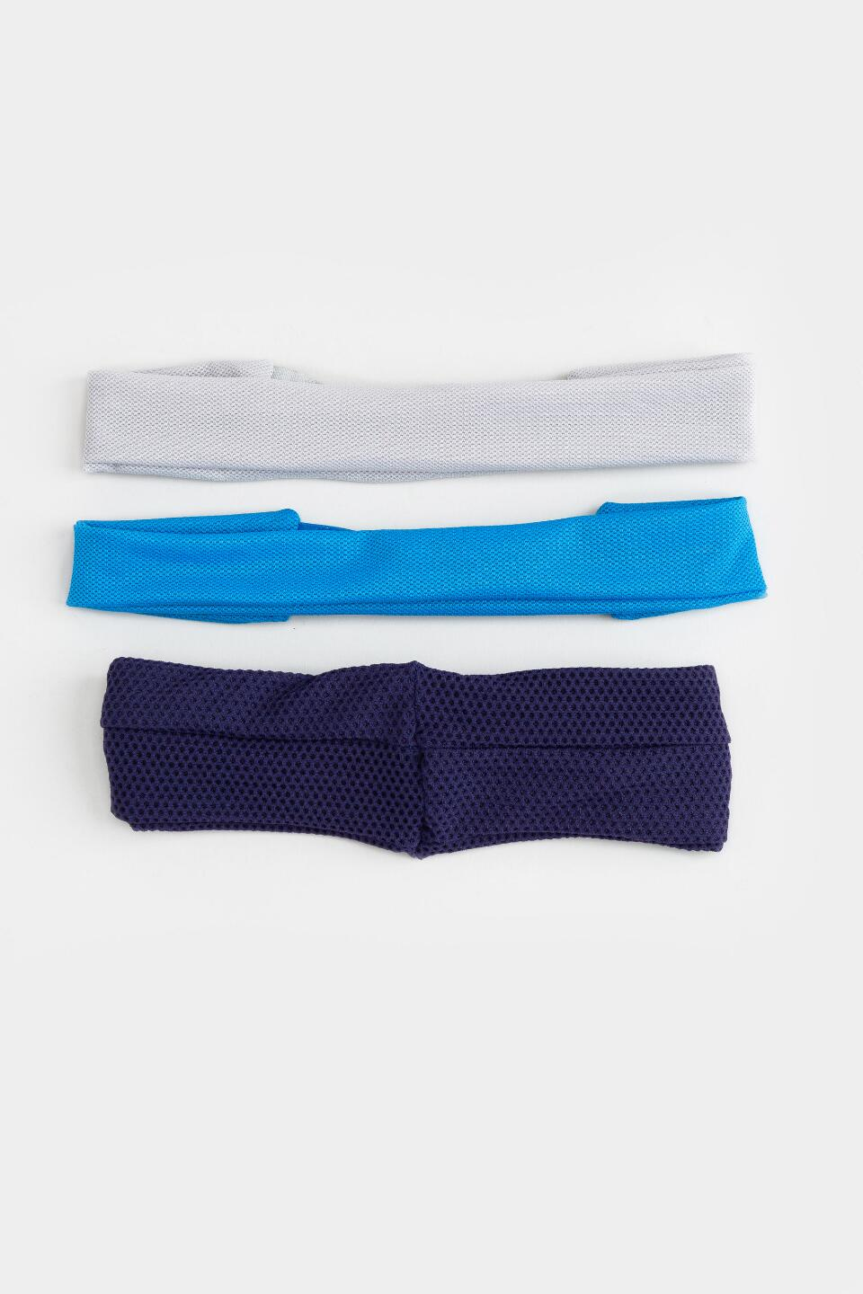 Lexi Athletic Hairwrap Set- Navy