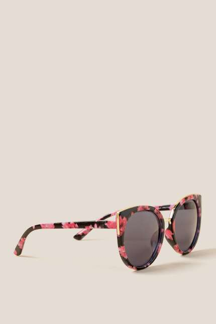 Ruby Floral Sunglasses