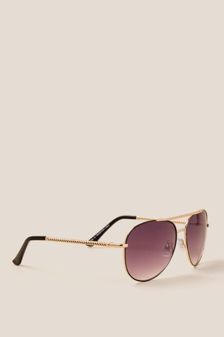 Second Wind Aviator Sunglasses