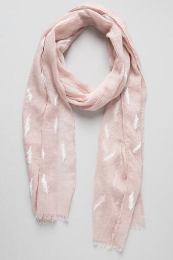 Misty Feather Oblong Scarf