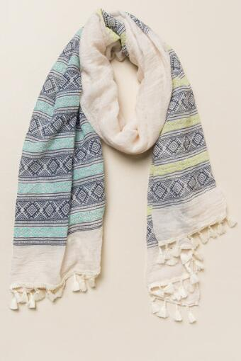 Zanna Tribal Oblong Scarf