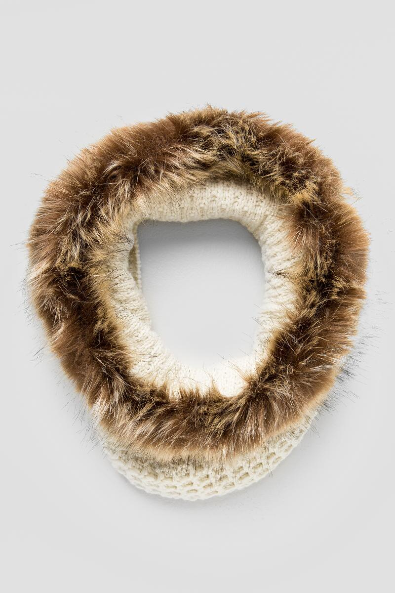 Furry Infinity Loop Scarf