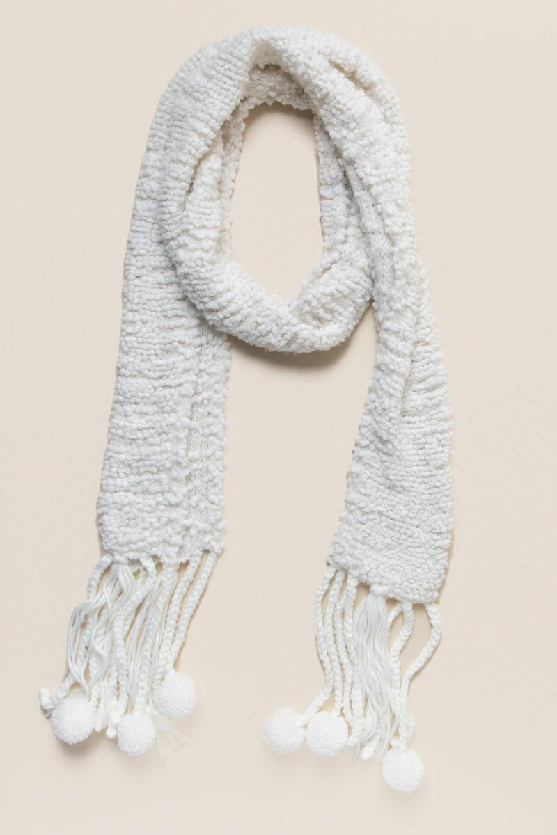 Amice Textured Oblong Scarf