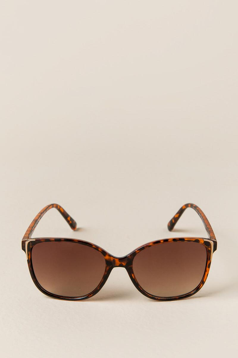Cats Meow Sunglasses-  tort-clfront