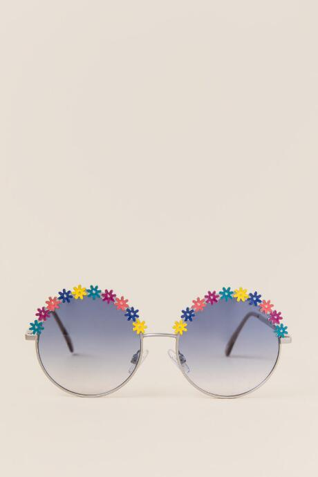 May Floral Round Sunglasses
