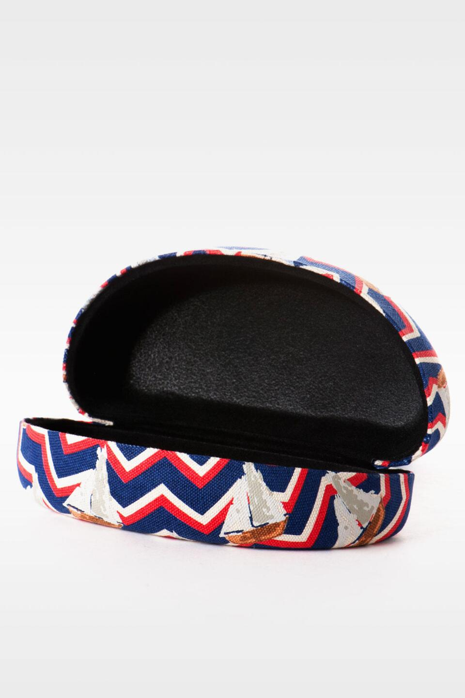 Sailboat Sunglasses Case-  navy-clalternate