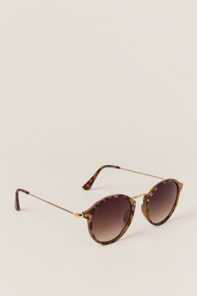 Still Water Tortoise Shell Sunglasses
