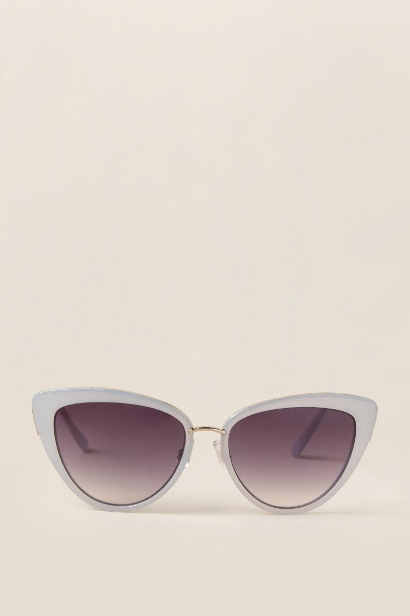 Valerie Cat Eye Sunglasses-  lav-clfront