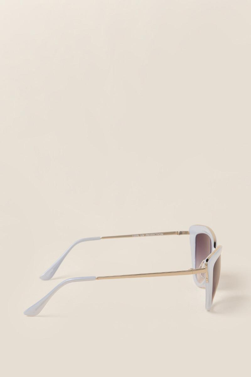 Valerie Cat Eye Sunglasses-  lav-clside
