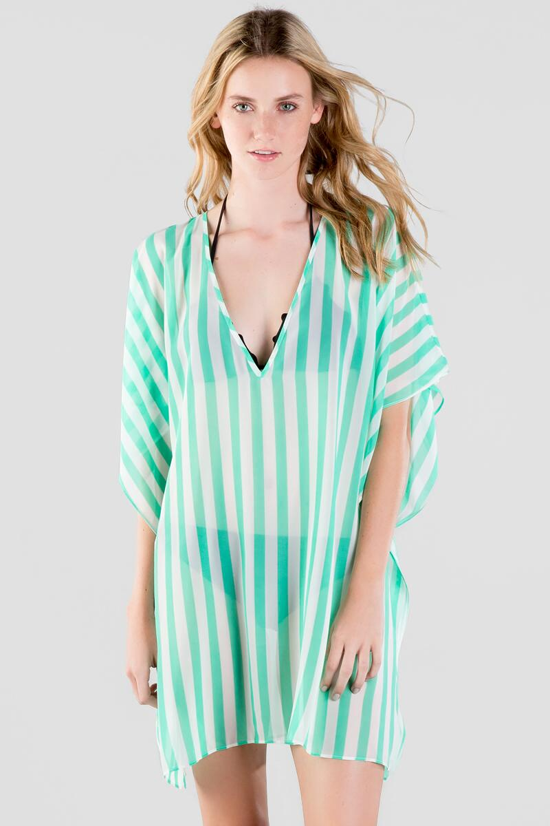 Carmen Stripe Cover-Up